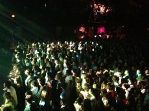 The crowd at the 9:30 club.