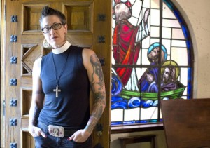 Nadia Bolz-Weber (photo by the Washington Post)