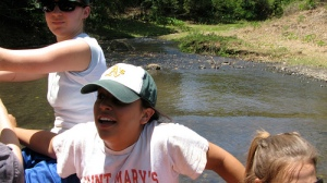 "Former UCSD Campus Ministry Students in El Salvador ""Fording the River"""