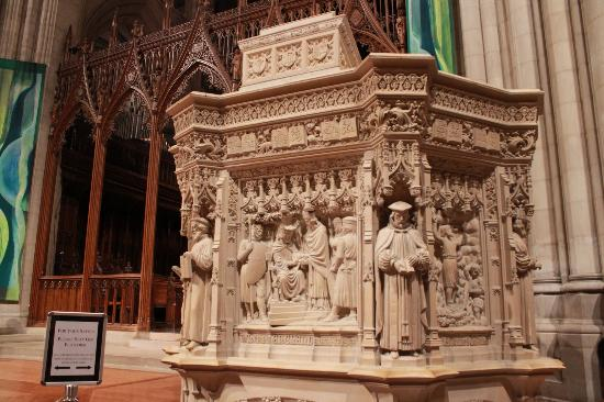 National Cathedral Pulpit