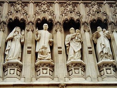 The Modern Day Martyrs at Westminster Abbey